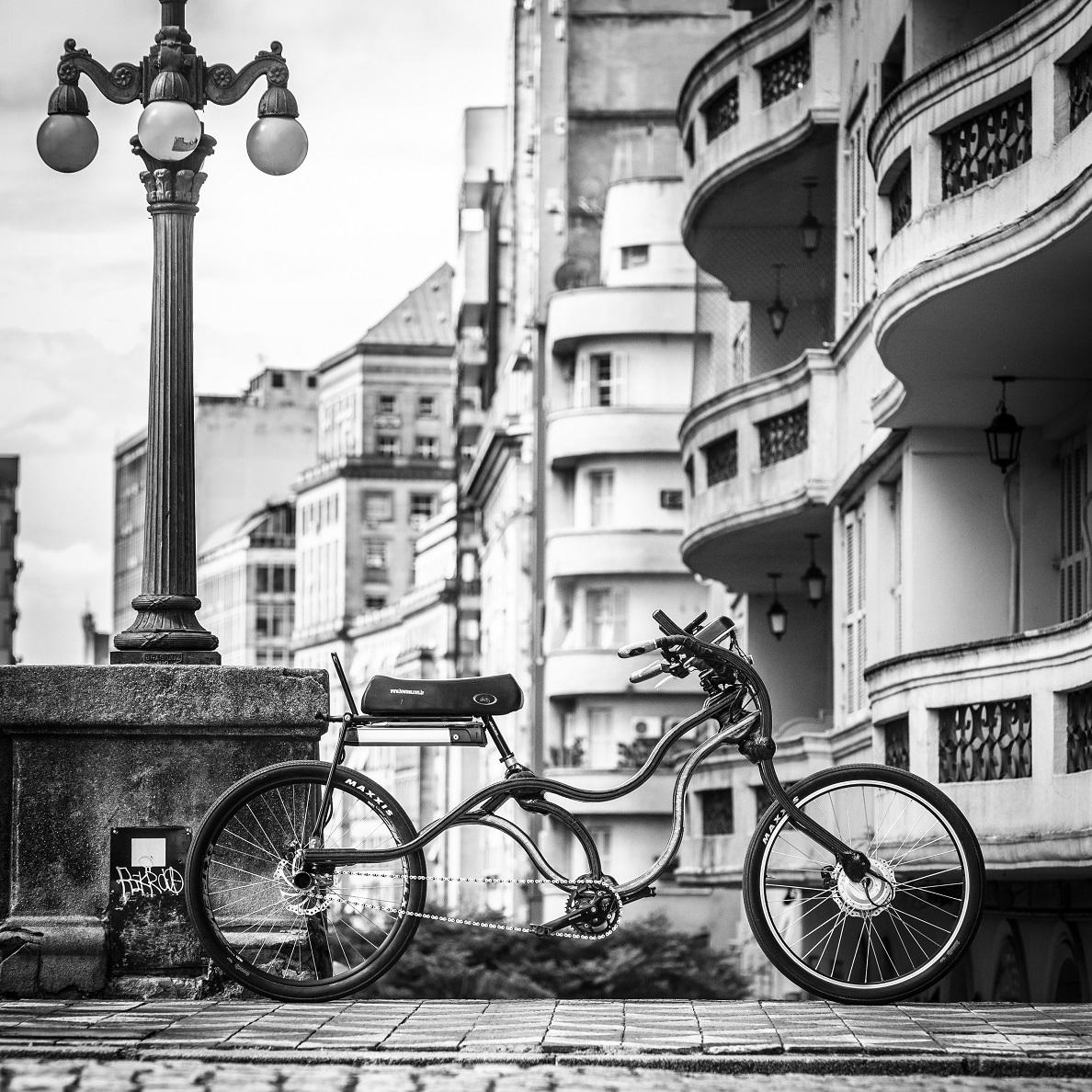 woodbike bicicleta de madeira laminatedw