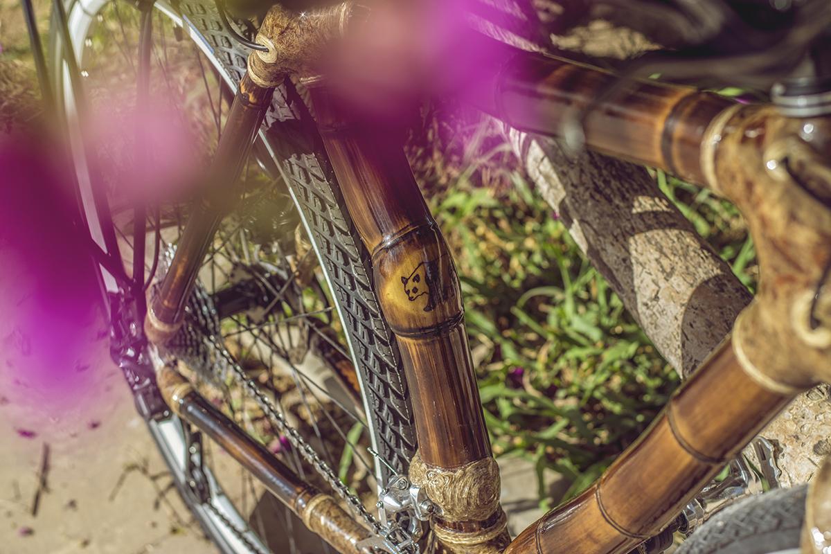 bamboo bike by ArtBikeBamboo, special hand made personalized bicicleta de bambu