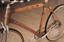 Bamboo Bike from ArtBikeBamboo, hand made bicicleta de bambu personalizada