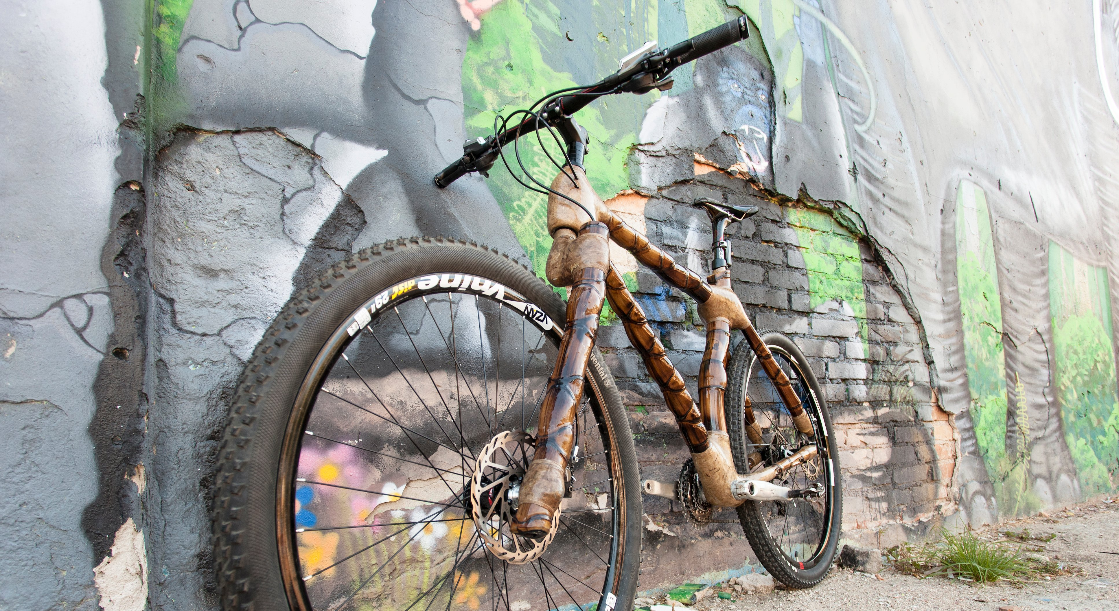 MTB 29er bamboo bike by ArtBikeBamboo, hand made, bicicleta mountain bike personalizada para trilhas
