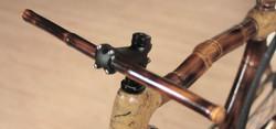 hand made bamboo bike, made in Brazil, by ArtBikeBamboo, fixed gear bicicleta fixa de bambu personal