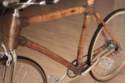 bicicleta de bambu urbana, personalizada