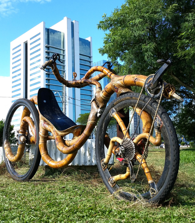 dimi kali linda bike bambu recumbent lig