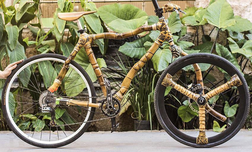 dimi bamboobike bamboo bike bambu