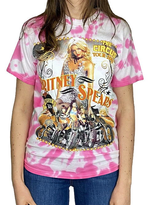 """BANDSHIRT Britney Spears """"The Circus Tour 2009"""""""