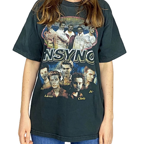 """BANDSHIRT  """"NSYNC* no strings attached"""""""