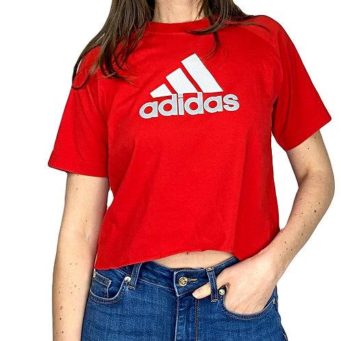 "SHIRT Adidas ""big Logo"" cropped"