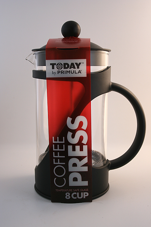 French Press 8 Cup tempered glass