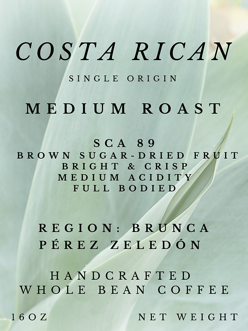 Costa Rica Brunca SHB EP