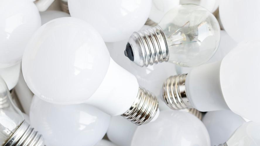 Como reciclar corretamente uma lâmpada?