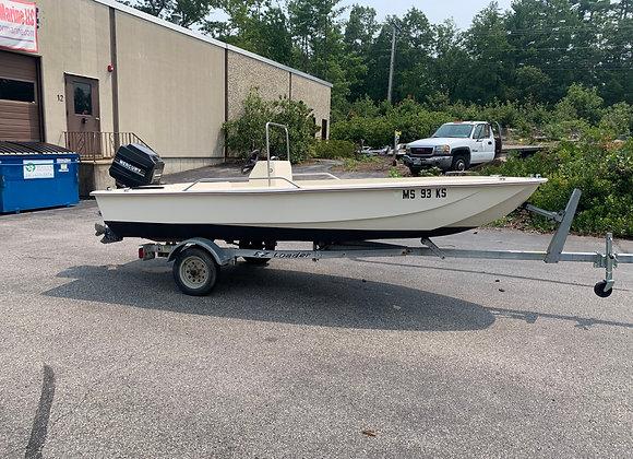 1993 Scout 152 15' Sportfish Center Console
