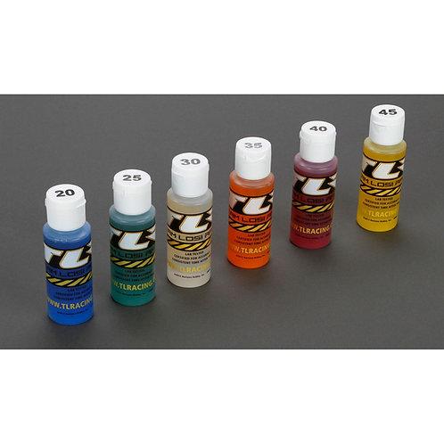 TLR Shock Oil 6Pk, 20,25,30,35,40,45, 2oz - TLR74020