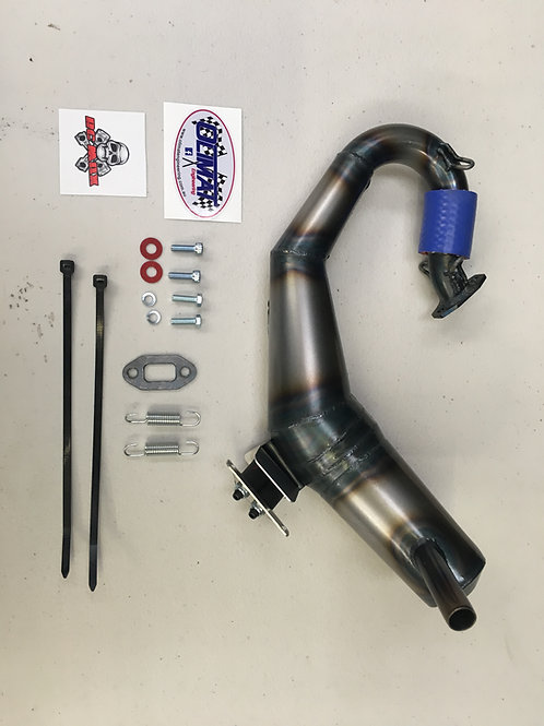 OLIMAT LOSI 5B SILENCED EXHAUST PIPE
