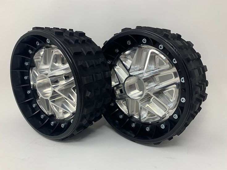 """PAIR OF CROSS-CUTTER 3"""" with 3D 24mm Hex Centers"""