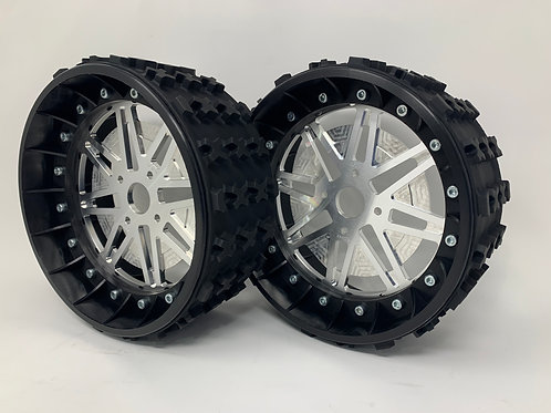 """PAIR OF SERIES-X 3"""" with Lightweight Centres for BRP Hubs"""