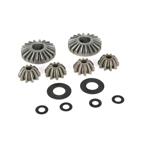 Internal Diff Gears & Shims (6): 5IVE-T, 2.0, MINI - LOSB3202