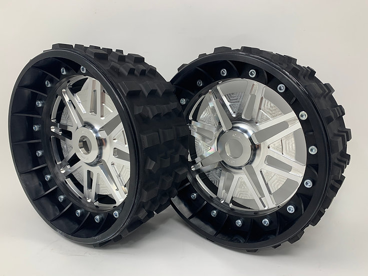 """PAIR OF CROSS-CUTTER 3"""" with Lightweight Centres for 24mm Hex"""