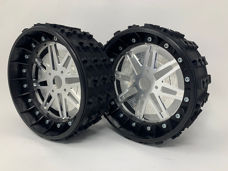 "PAIR OF SERIES-X 3"" with Lightweight Centres for BRP Hubs"