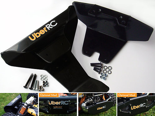 UBER RC CHASSIS BRACE BUMPER TWIN PACK