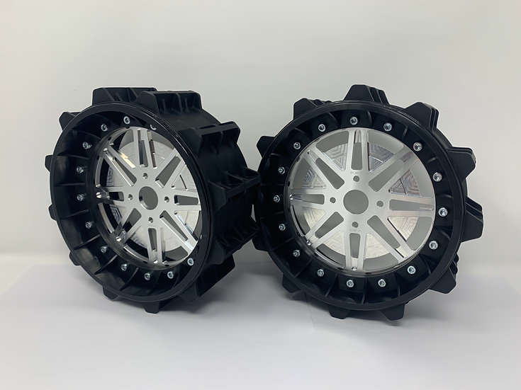 """PAIR OF SAND PADDLE 3"""" with Lightweight Centres for BRP Hubs"""