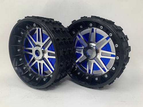 """PAIR OF SERIES-X 3"""" with Lightweight Centres for 24mm HEX"""