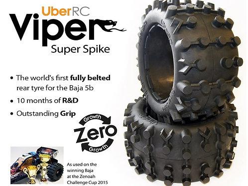 UBER RC BAJA 5B SUPER SPIKE TYRES (2)