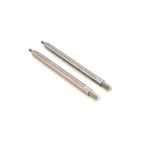 TLR Rear Shock Shafts, TiCN coated, 5T & 2.0 (2): - TLR353002