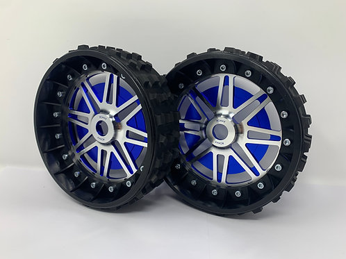 """PAIR OF CROSS-CUTTER 2"""" with Lightweight Centres for 24mm Hex"""