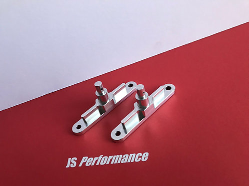 Billet Front Centre Side Body Mounting Posts (Pair)