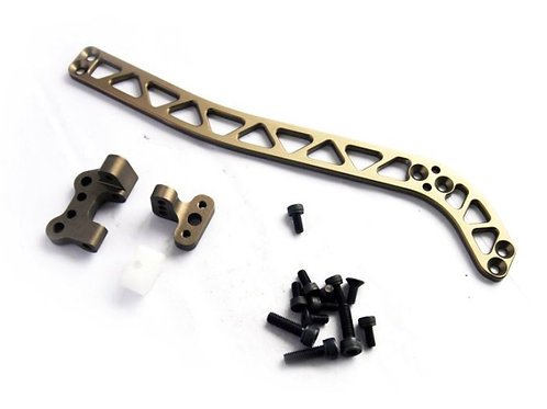 MCD Racing Alloy Rear Upper Chassis Stiffener Set. 1pc