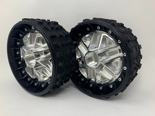 """PAIR OF CROSS-CUTTER 3"""" with 3D 24mm Hex Centres"""