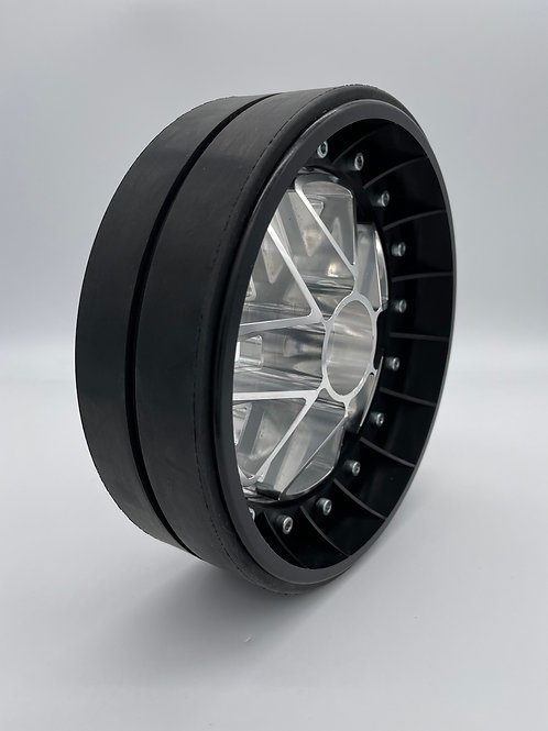"""PAIR OF 2"""" SLICKS with 3D 24mm Hex Centres"""
