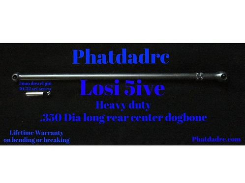 PHAT DAD LOSI 5T LONG CENTRE REAR SHAFT