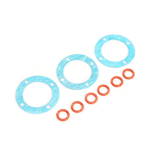 Outdrive O-rings & Diff Gaskets (3): 5ive-T, 2.0, MINI - LOS252097