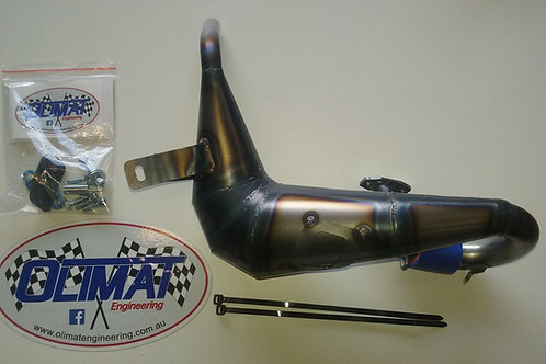OLIMAT LOSI DBXL UNSILENCED EXHAUST PIPE