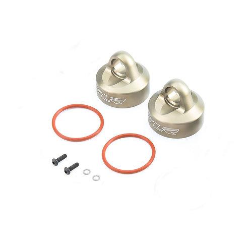 TLR Billet Bleeder Shock Caps (2): 5T, 2.0, MINI - TLR353003