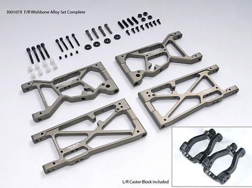 MCD Racing F/R Wishbone Alloy Set Complete