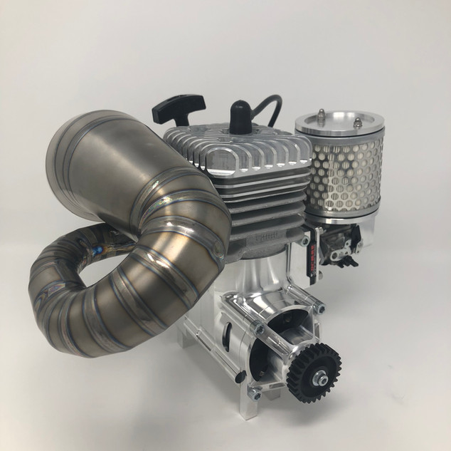 LOSI 5T ENGINE, EXHAUST and CLUTCH