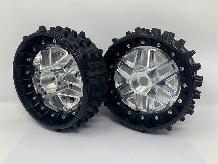 """PAIR OF SUPER SPIKE 3"""" with 3D 24mm Hex Centres"""