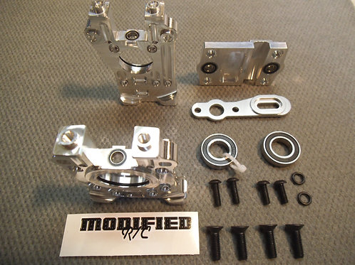 MODIFIED RC LOSI 5T 2.0 CENTRE DIFF MOUNT and BRACE