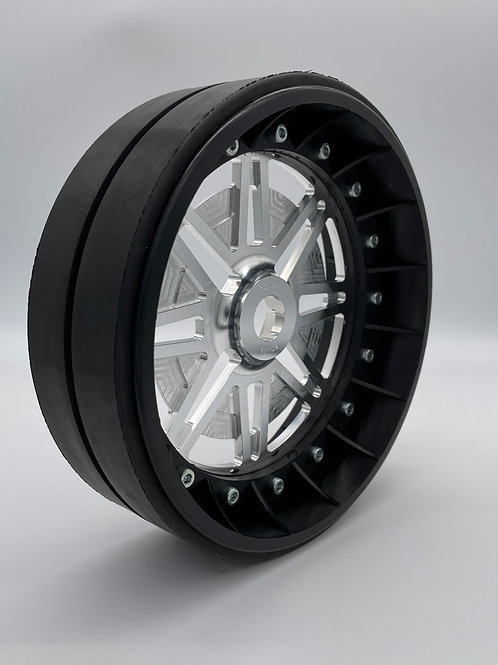 """PAIR OF 2"""" SLICKS with Lightweight Centres For 24mm HEX"""