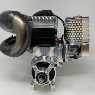 LOSI 5T 2.0 ENGINE, EXHAUST, CLUTCH, ETC PARTS