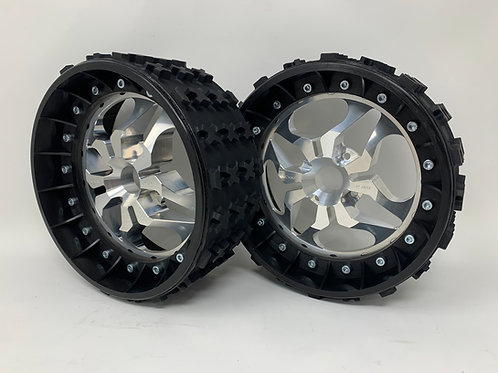 "PAIR OF SERIES-X 3"" with 3D 4 Bolt Centres"