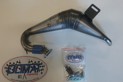OLIMAT LOSI 5T/2.0 UNSILENCED EXHAUST PIPE