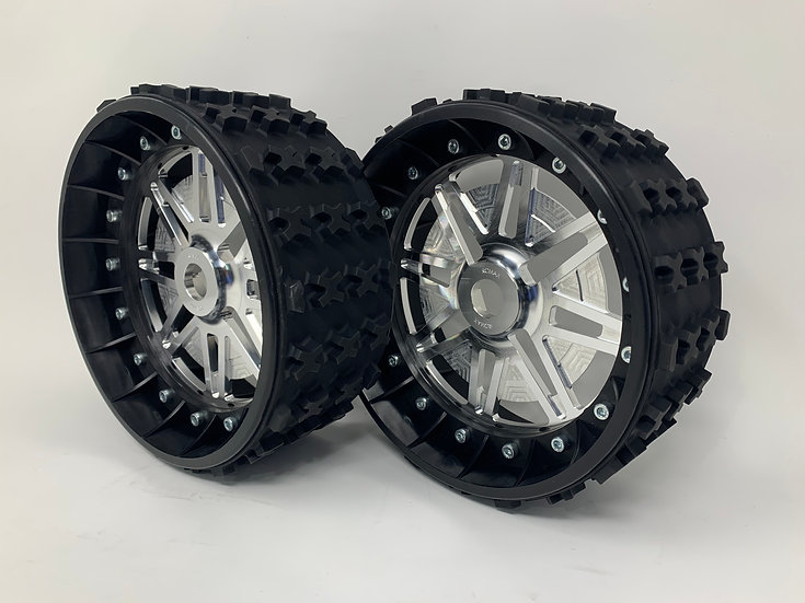 "PAIR OF SERIES-X 3"" with Lightweight Centres for 24mm HEX"