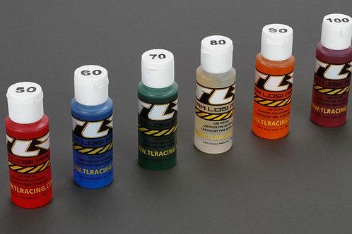 TLR Shock Oil 6Pk, 50,60,70,80,90,100, 2oz