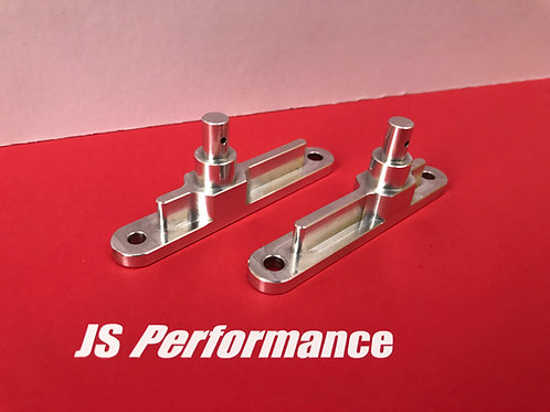 Billet Rear Centre Side Body Mounting Posts (Pair)