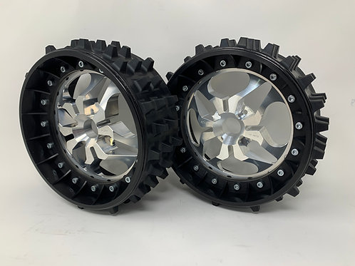 """PAIR OF SUPER SPIKE 3"""" with 3D 4 Bolt Centres"""