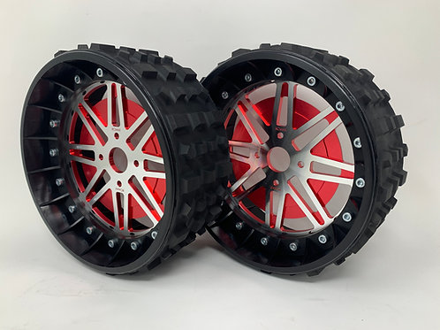 "PAIR OF CROSS-CUTTER 3"" with Lightweight Centres for BRP Hubs"