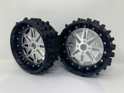 """PAIR OF SUPER SPIKE 3"""" with Lightweight Centres for BRP Hubs"""